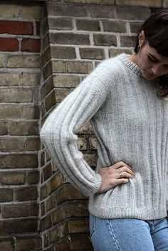 Ravelry: Vertical Stripes Sweater pattern by PetiteKnit