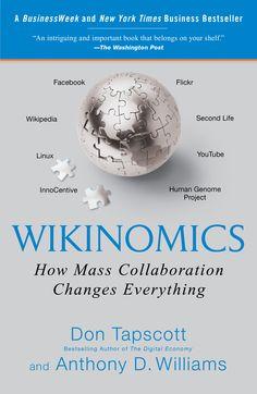 Resumen con las ideas principales del libro 'Wikinomics', de Don Tapscott y Anthony D. Williams. Cómo la colaboración en masa a través de las nuevas tecnologías está produciendo resultados sorprendentes. Ver aquí: http://www.leadersummaries.com/resumen/wikinomics