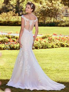 Rebecca Ingram Wedding Dress Nancy 8RS539 Back