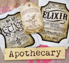 Embroidery Designs at Urban Threads - Apothecary (Design Pack)