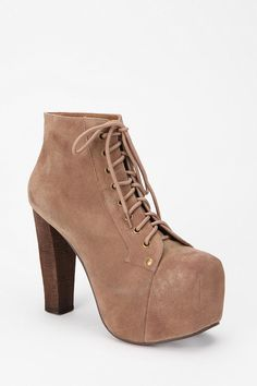 Jeffrey Campbell Suede Lita Boot  #UrbanOutfitters    oh my god. I have been in love with these far too long. I need to just buy them.