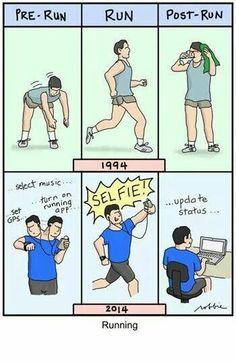Yep... Correr ya no es cosa de uno... ;)