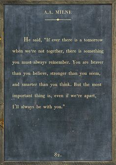 Sugarboo Designs A.A. Milne Book Collection Sign - Charcoal / 2' x 3'