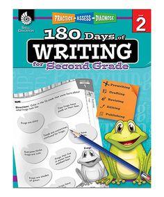 Grade 2 180 Days of Writing Workbook by Shell Education #zulily #zulilyfinds