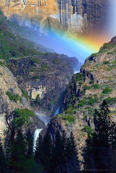 Rainbow, Yosemite National Park. California