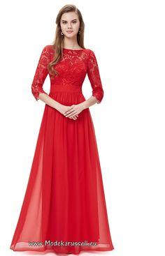 Elegantes Rotes Spitzen Abendkleid Surya                                                                                                                                                                                 Mehr