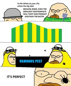 See more 'Breaking Bad Comics' images on Know Your Meme! Breaking Bad Memes, Bad Comics, Funny Comics, You Funny, Really Funny, Funny Stuff, Laughing So Hard, Funny Images, Frases