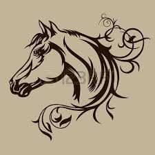 Image result for horse silhouette
