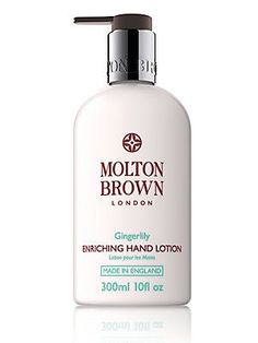 Molton Brown Gingerlily Enriching Hand Lotion/10 oz. - No Color