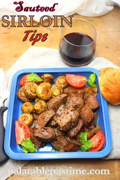 Sauteed Sirloin Tips with Mushrooms #weekdaysupper