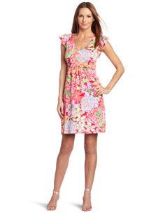 Amazon.com: Lilly Pulitzer Women's Cherry Dress: Clothing