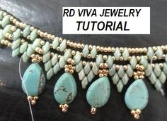 Tutorial San Francisco Necklace by RDVIVAJEWELRY on Etsy, $9.00