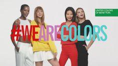 Красочная реклама парфюмерии от бренда United Colors of Benetton #modnakraina #моднакраина #видео
