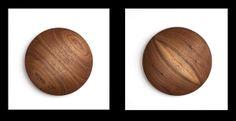 Wooden Disc by Luna Ikuta, via Behance