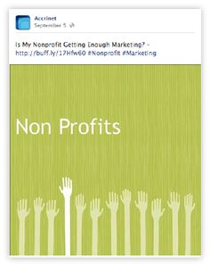 !0 #Facebook tips for Non Profit Organisations