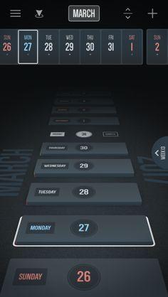 Vantage Calendar - Reeoo iPhone Patterns