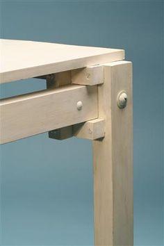 Table, military table. Designed by Gerrit Rietveld for G. A. van de Groeneken