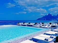 The Fasano Hotel in Rio.... Going there next!.   Algien que me invite a este lugar!