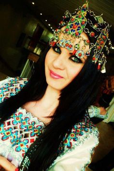 Algerian Fashion: Berber jewelrey