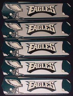 "NFL Philadelphia Eagles Football 52"""" Ceiling Fan Blades Only"