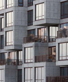 2222 jackson apartment building by ODA new york features 'pixelated' concrete façades