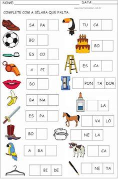Kindergarten Math Worksheets, Preschool Learning, Teaching Kids, Kids Education, Baby Boy Shower, Phonics, Activities For Kids, Homeschool