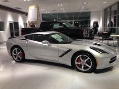 2014 Corvette Stingray Coupe.