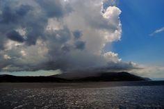Thunderstorm over Karlovasi, Samos   Photo taken by Alex Korakis