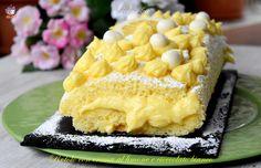 Rotolo con crema al limone e cioccolato bianco, ricetta soffice strepitosa   GoloSofia   Bloglovin'