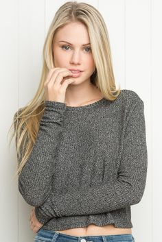 Brandy ♥ Melville | Breanne Top - Long Sleeves - Tops - Clothing