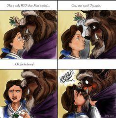 Beauty And The Beast Kiss Meme By Magna Est Veritas On DeviantART