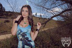 Hello Wars x LeeAnna Vamp, Boba Kitty necklace