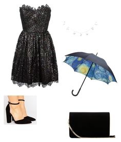 """Avie#1"" by rebelbabygrl on Polyvore featuring Yves Saint Laurent, ASOS and L.K.Bennett"