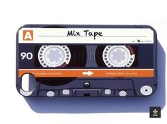 Mix Tape Cassette Style Case For IPhone