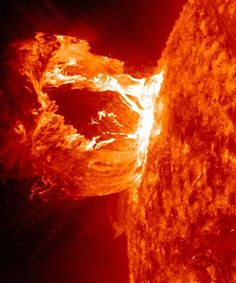 This will take you to an awesome video of solar flare footage captured by NASA. THE SUN IS AMAZING