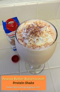 Peanut Butter Butterscotch Protein Shake