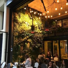 French Restaurants, Paris Restaurants, Paris Hotels, Resto Paris, Indoor Bar, Restaurant Paris, Rustic French, Sustainable Design, Land Scape