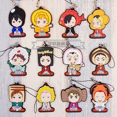 Haikyuu! Anime Hinata Kageyama Oikawa Tooru Kozume Kenma Kuroo Tetsurou Sushi Ver Rubber Resin Keychain Pendant-in Action & Toy Figures from Toys & Hobbies on Aliexpress.com   Alibaba Group