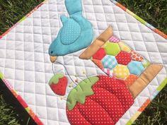 Spoolie Pin Cushion Mini Quilt