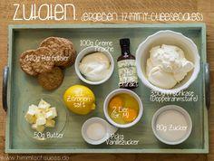 Cheesecake_Zutaten