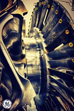 Steam turbines are #badass #machines!