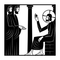 """Tuesday of Holy Week - Luke 20:21-25 So they asked Him, """"Teacher, we know that You speak and teach rightly, and show no partiality, but truly teach the way of God. Is it lawful for us to give tribute to Caesar, or not?"""" But He perceived their craftiness, and said to them, """"Show Me a denarius. Whose likeness and inscription does it have?"""" They said, """"Caesar's."""" He said to them, """"Then render to Caesar the things that are Caesar's, and to God the things that are God's."""""""