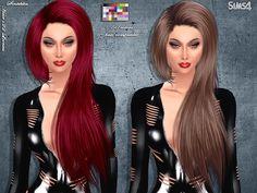 Sims 4 CC's - The Best: Hair by Sintiklia