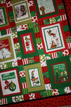 Just Let Me Quilt: The Grinch Christmas Quilt