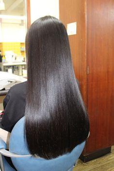 Straight Black Hair, Long Black Hair, Long Layered Hair, Long Hair Cuts, Black Ponytail Hairstyles, Straight Hairstyles, Kid Hairstyles, Beautiful Long Hair, Gorgeous Hair