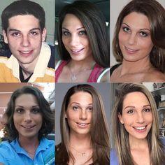 Transgender Couple, Male To Female Transgender, Transgender Girls, Male To Female Transition, Mtf Transition, Male To Female Hormones, Chica Punk, Male To Female Transformation, Feminized Boys