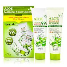 Dabo Aloe Soothing Gel & Foam Cleansing Set - Skincare - StrawberryNET.com (USA)