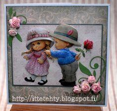 Itte tehty: Vaaleanpunaista teille kahdelle