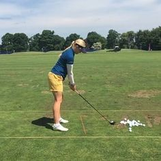 Check out Charley Hull's swing in #slomo