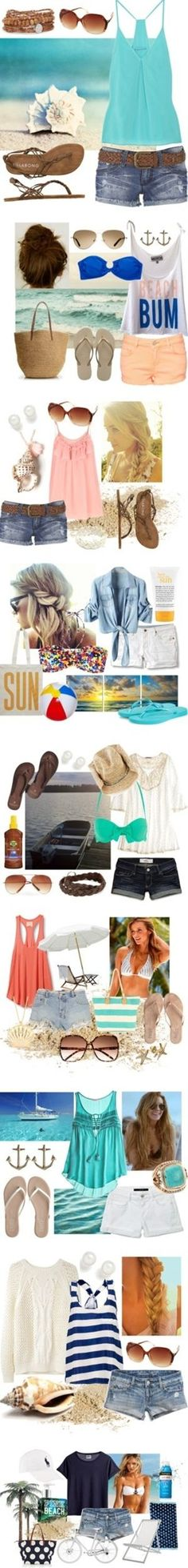 Sally Lee by the Sea Coastal Lifestyle Blog: Saturday Beach Style: Dreaming of Summer - Click image to find more Women's Fashion Pinterest pins